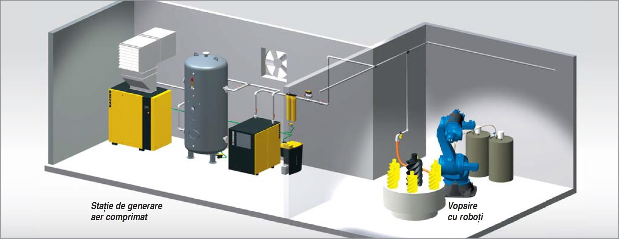 inspection of the compressed air system