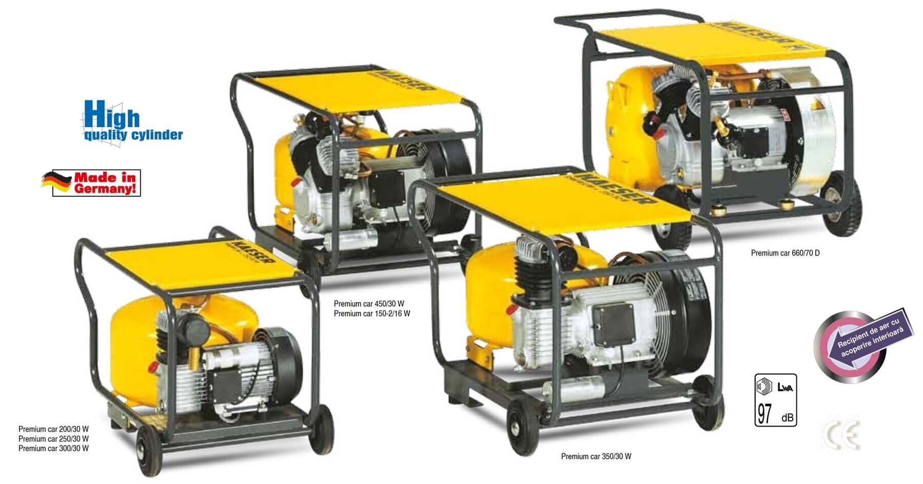 Reciprocating compressors premium series