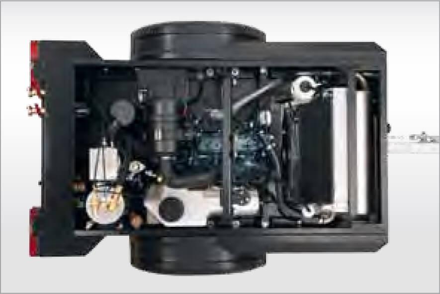 maintenance of mobile compressors