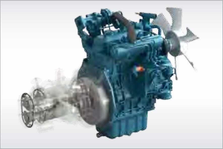 Portable compressors with strong synergy for energy saving