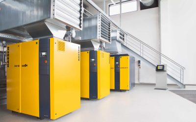 Proper installation of industrial compressors