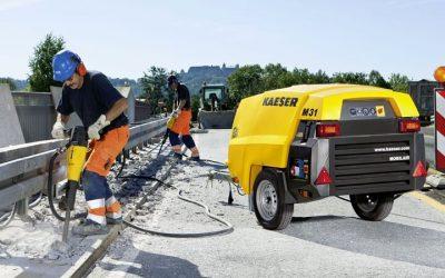 Motocompresoare pentru construcții – Kaeser MOBILAIR M 27/ M 31