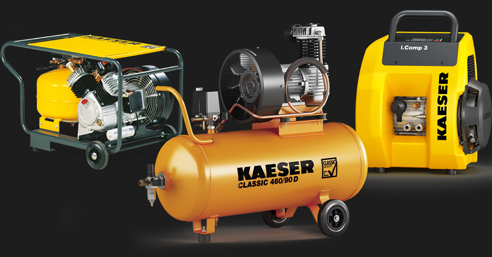 энергоэффективные поршневые компрессоры kaeser